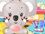 Baby Koala Caring
